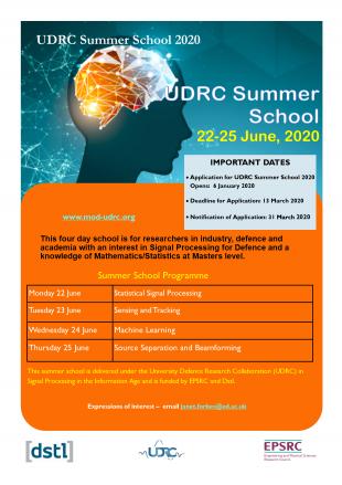 Summer Summer School Flyer 2020