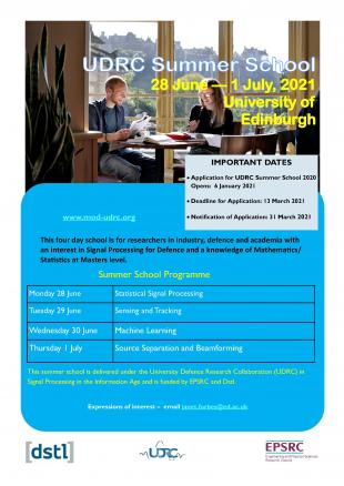 UDRC Summer School Flyer
